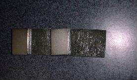 ネオジウム磁石が強力すぎて、めちゃくちゃに^^;
